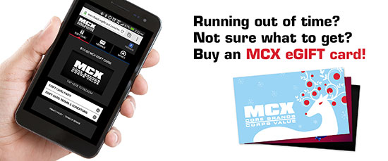 MCX Launches New eGift Cards Just in Time for the Holidays